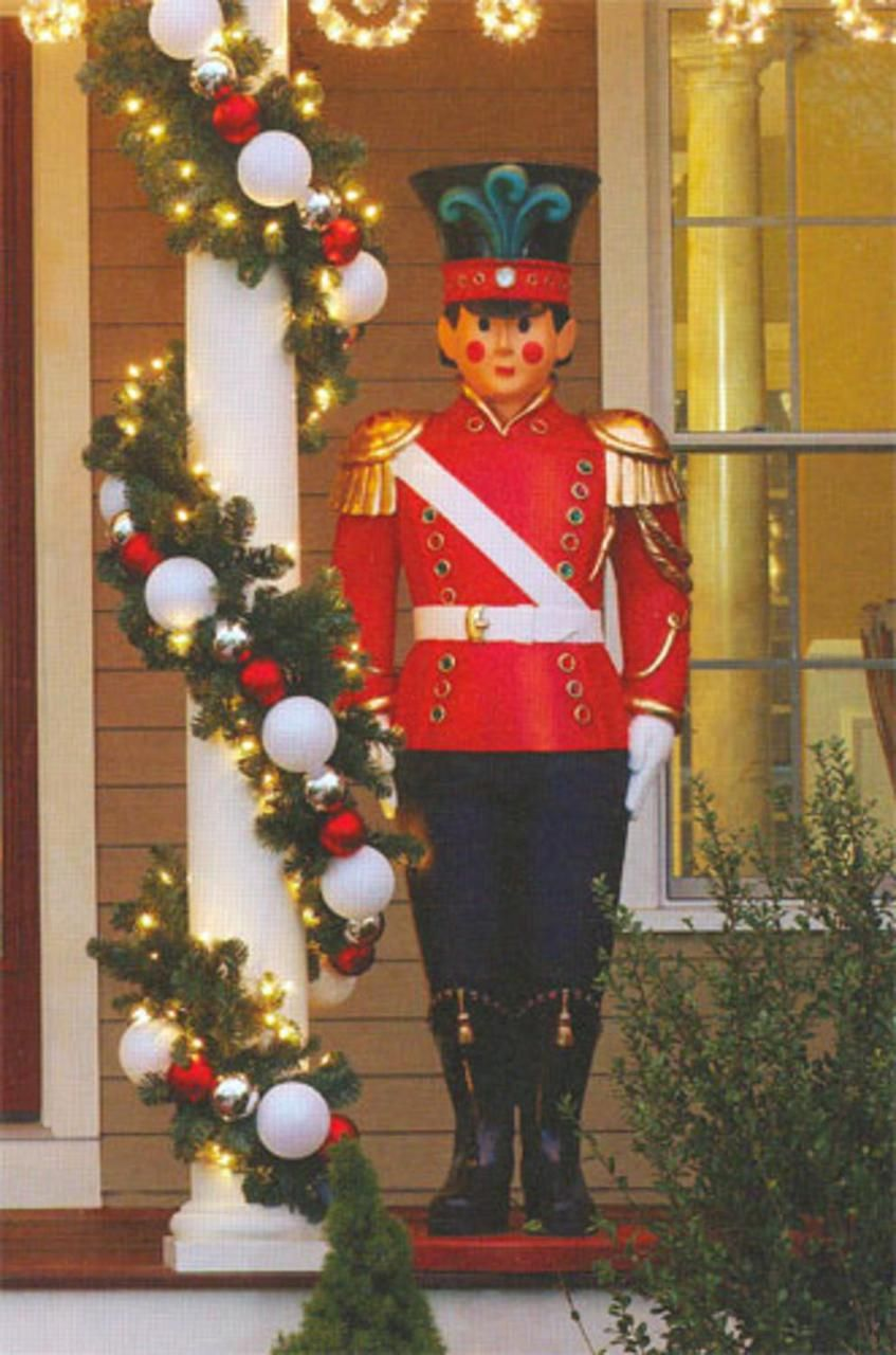 giant commercial grade fiberglass toy soldier christmas decoration display 6 16457735 christmascentral - Fiberglass Christmas Decorations