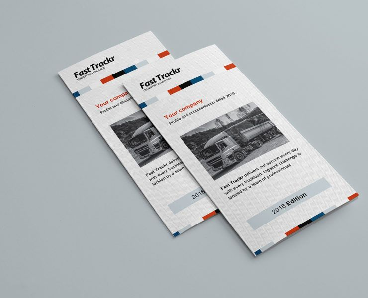 Free Trifold Brochure Template For Photoshop Illustrator Creating