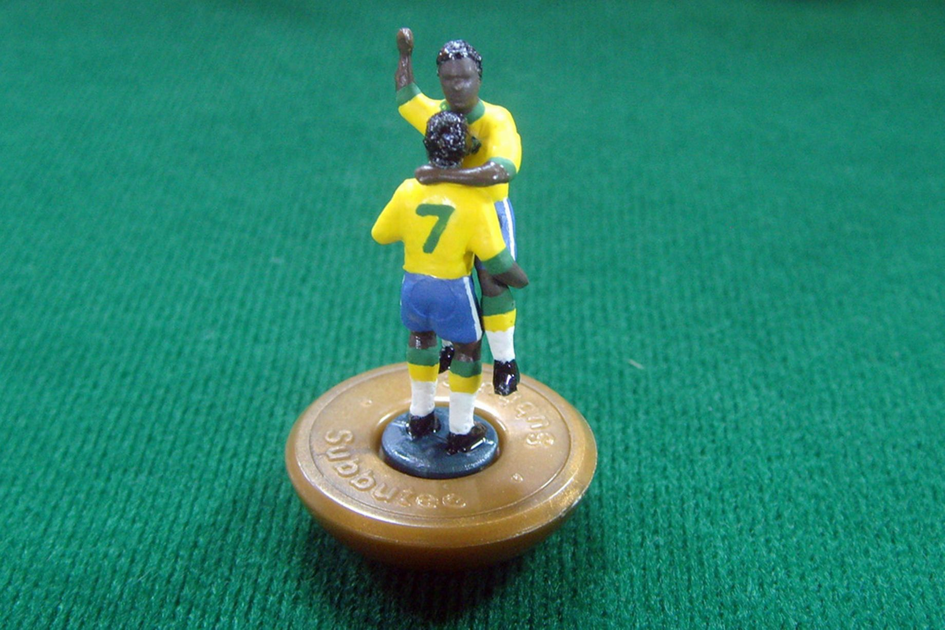 Subbuteo World Cup history created by footballmad artist