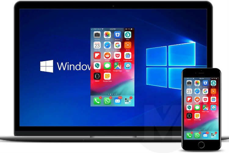 How to record iphone screen and voice on windows