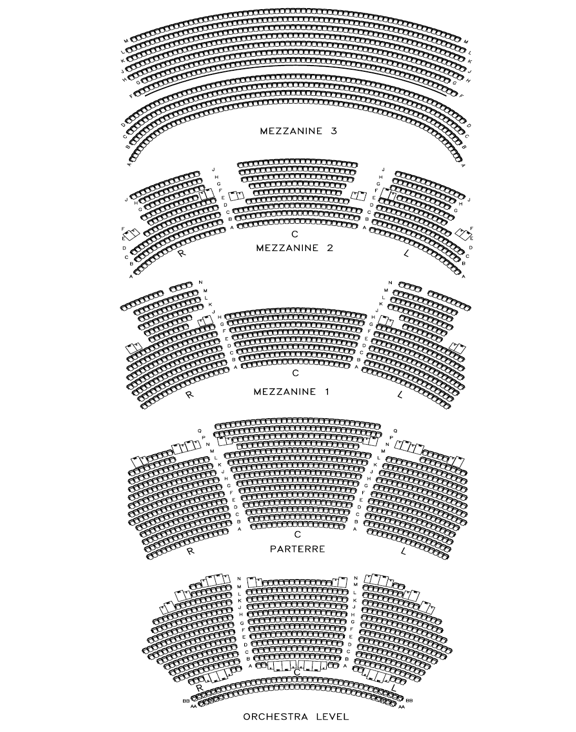 Box Office Information Dolby Theatre Los Angeles Seating Charts Theater Seating Seating