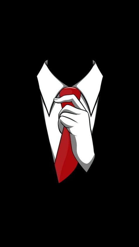 Red Tie Tap To See More Creative Wallpaper Mobile9 Android Wallpaper Black Deadpool Wallpaper Black Wallpaper