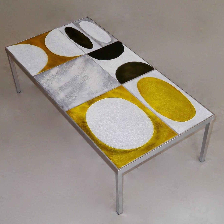 Roger Capron Table Basse Table Basse Ceramique Mobilier Genial Meuble