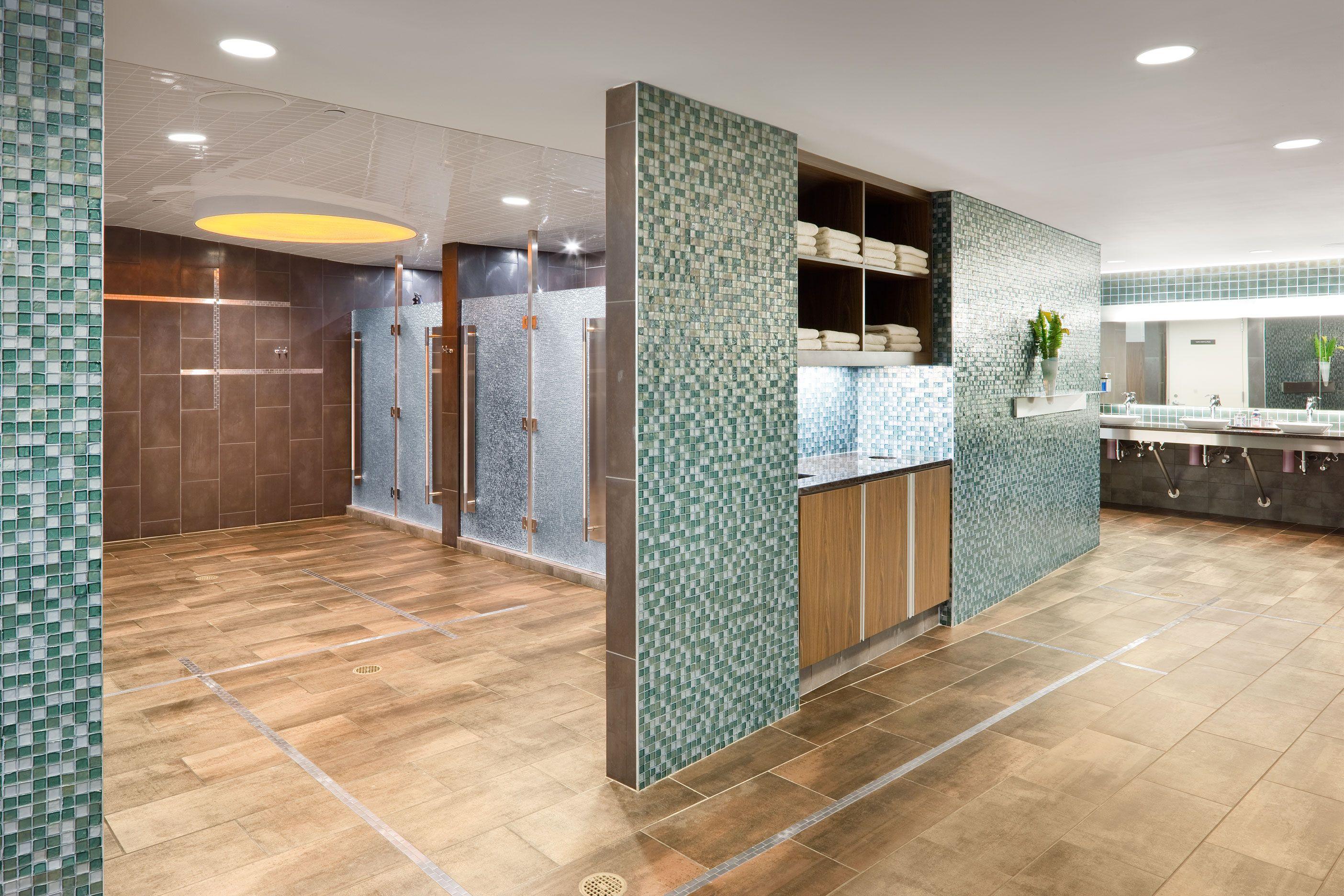 Equinox 225 Franklin St  Locker Room #boston #interiordesign