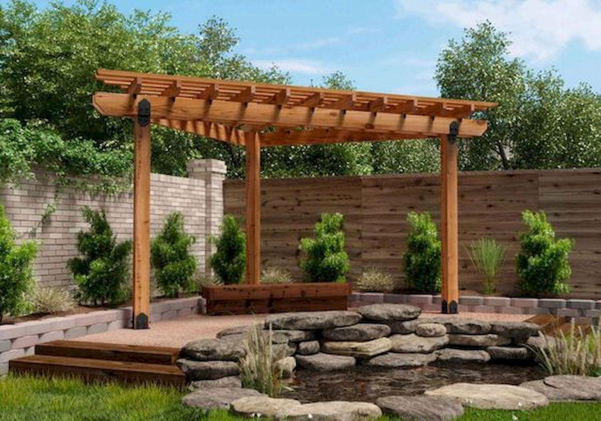 80 Wonderful Side Yard And Backyard Japanese Garden Design ... on Side Yard Pergola Ideas id=76422