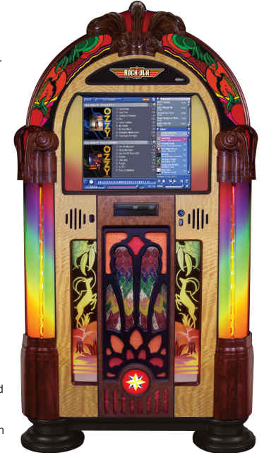 art deco juke box Jukebox