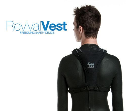 smart fabric technology, Freediving safety device, Revival Vest ...