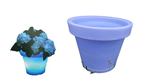 Blumenkübel LED - pflanzkübel selber machen pflanzkübel bepflanzen - garten blumen gestaltung