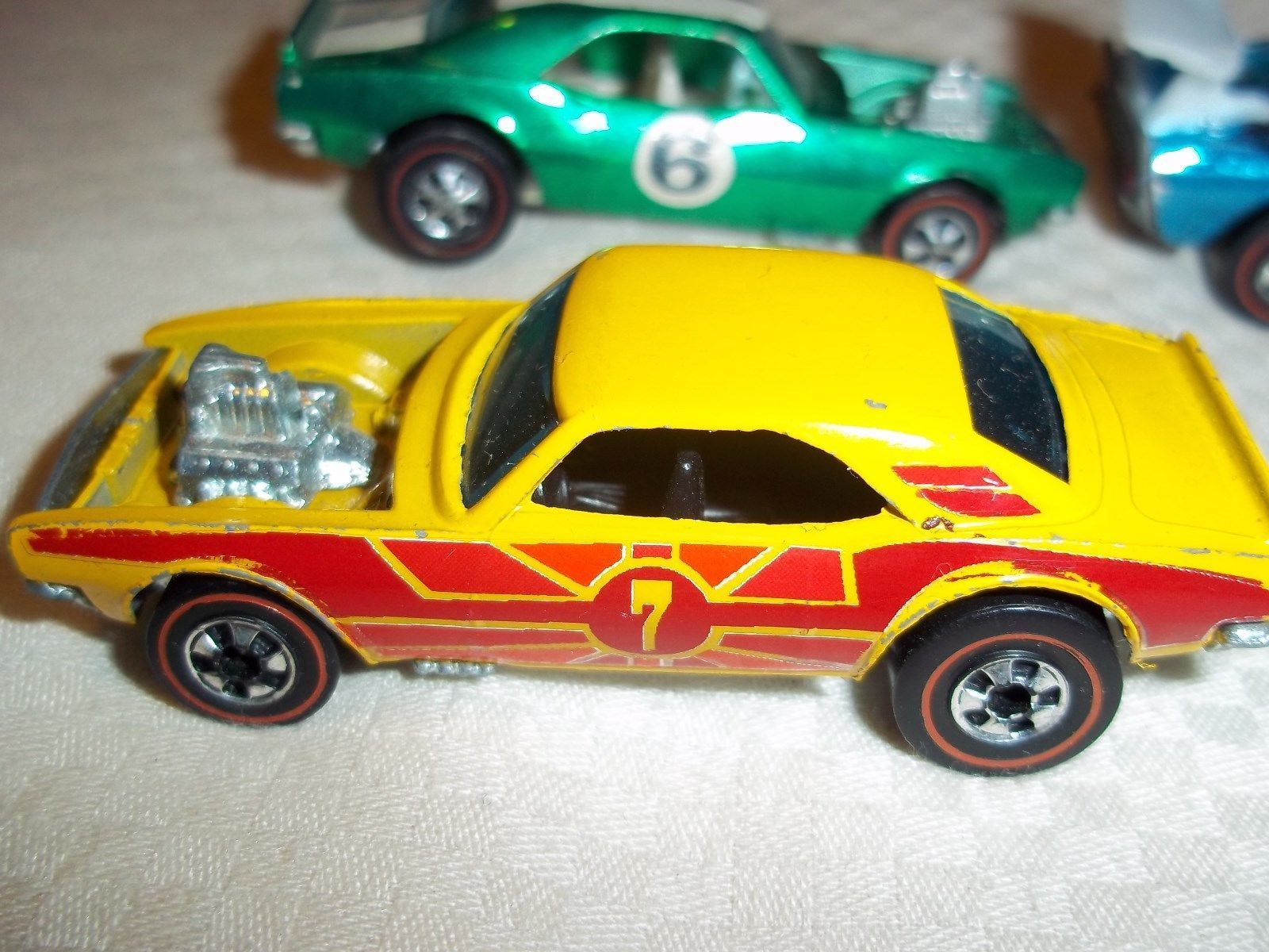 1974 Hot Wheels Redline Heavy Chevy Yellow Enamel Camaro Shows