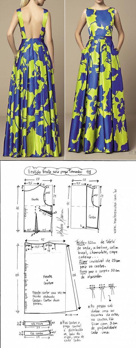 Шитье простые выкройки | isabelino | Pinterest | Costura, Patrones y ...