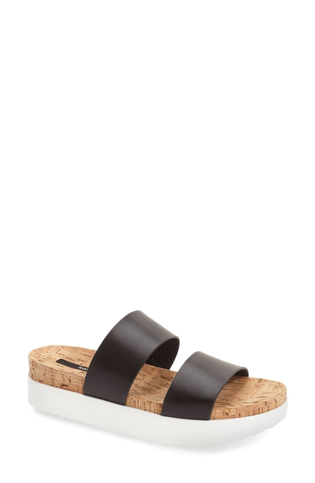 5ebc46d2faa kensie  Boston  Flatform Sandal (Women) available at  Nordstrom ...