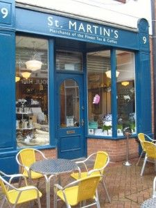 St Martins Coffee And Tea Merchants Leicester