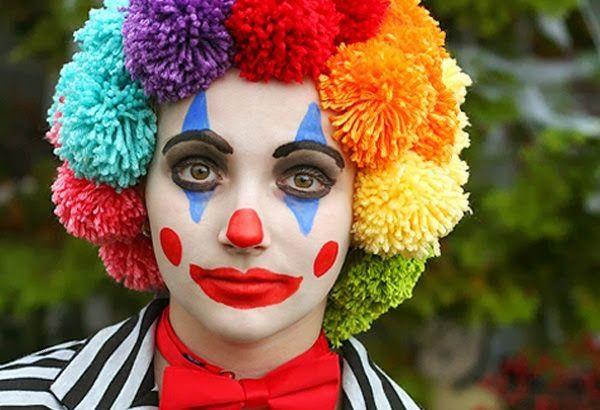 Pintar la cara en carnavales Payaso