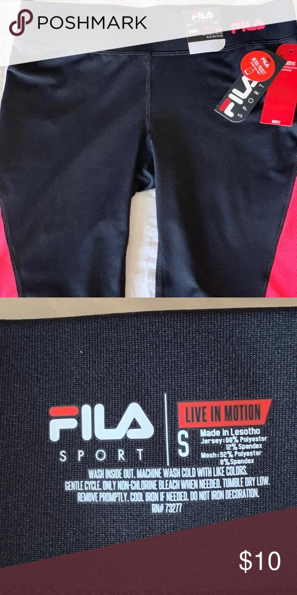ba96005c5f53 Fila Sport Bermuda spandex shorts Work out Fila spandex Bermuda shorts