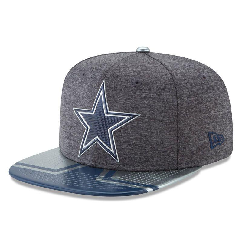 92f8538ab Dallas Cowboys New Era 2017 NFL Draft Spotlight Original Fit 9FIFTY  Snapback Adjustable Hat - Graphite