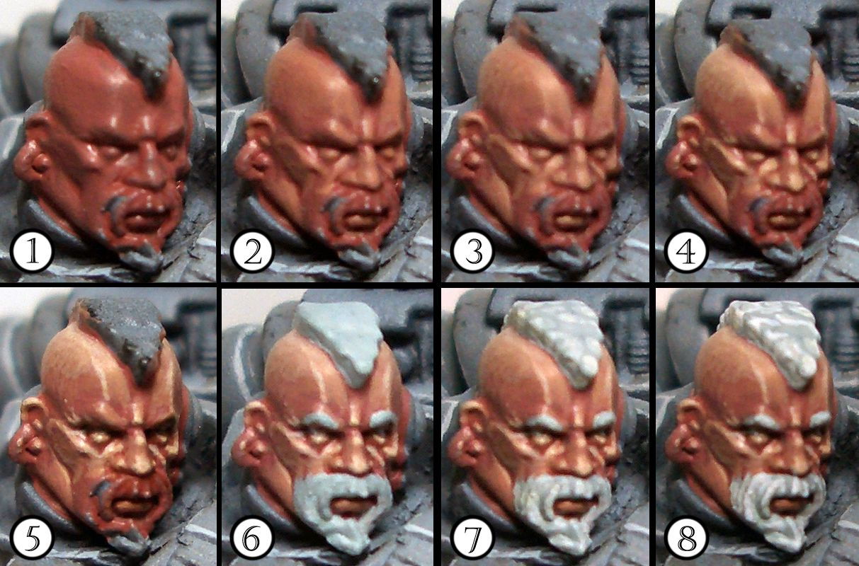 Drowned in plastic space wolf stepbystep part 3 faces