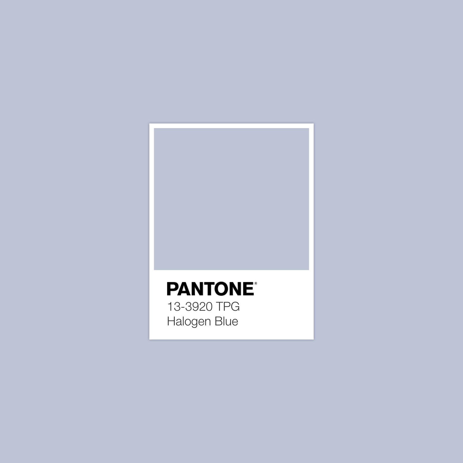 Halogenblue Pantone Luxurydotcom Pantone Colour Palettes Pantone Color Pantone