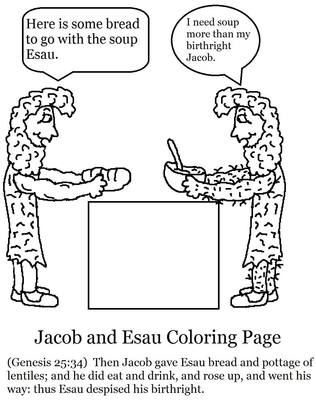 Jacob y Esaú   Bible class   Pinterest