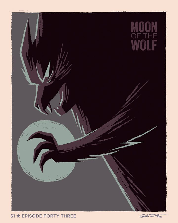 My Poster For Episode 43 Of Batman The Animated Series I Don T