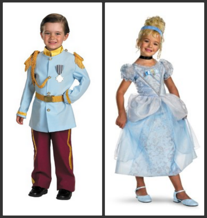 20 coordinating halloween costumes for kids story teller movie - Prince Charming Halloween Costumes