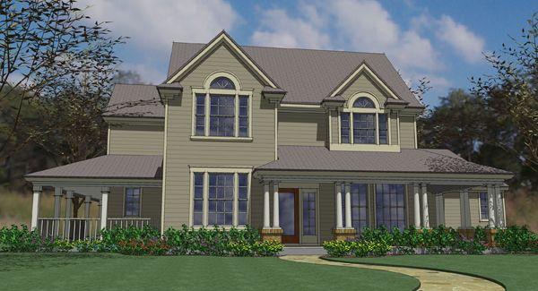 The Crockett 6195 4 Bedrooms And 2 Baths The House Designers Country Style House Plans House Plans House Plans Farmhouse