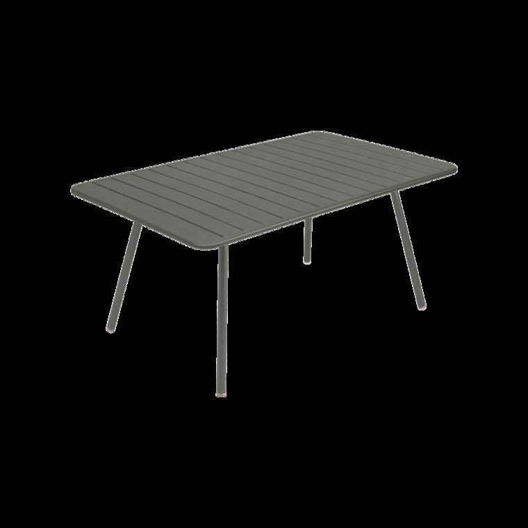 Table 165x100 cm Luxembourg, table de jardin, table jardin 8 ...