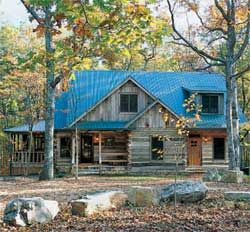 Walden 19th Century Antique Log Homes – McKaig Gulf p73 - LogHome.com