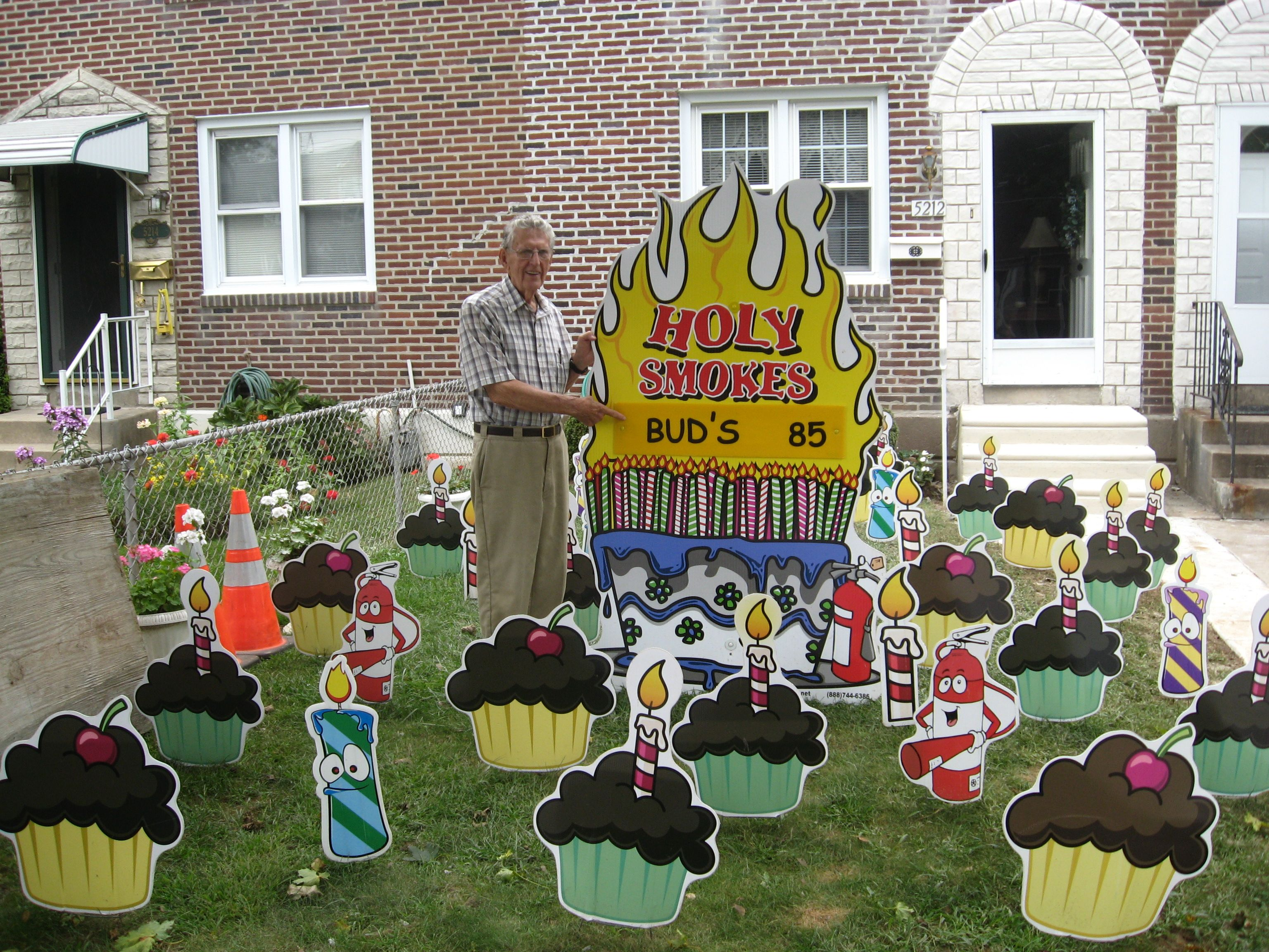 50th Birthday Yard Sign Ideas