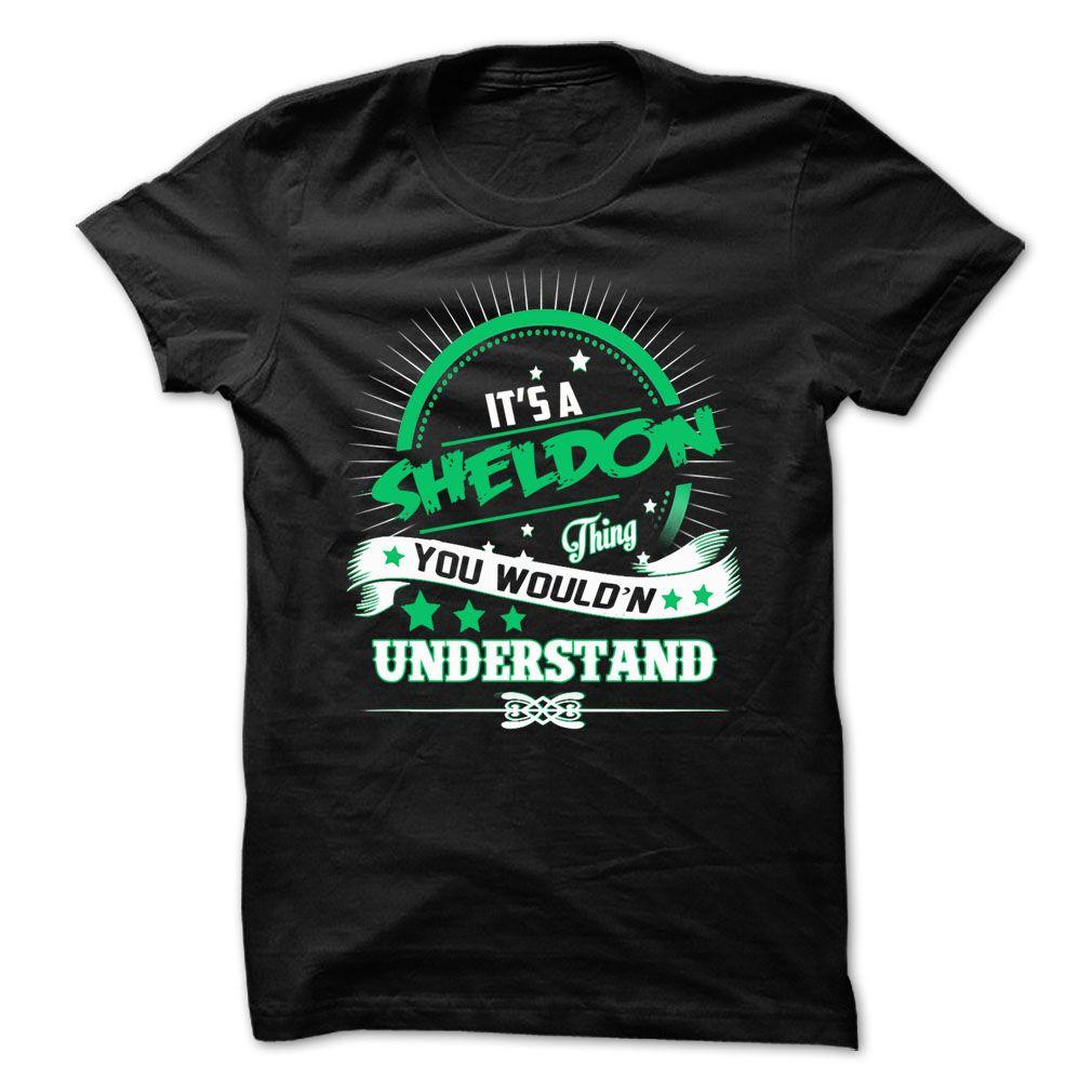 awesome Is SHELDON Thing ... 0909 Cool Name Shirt !  Check more at http://plaintee.top/name-tshirts-coupon/is-sheldon-thing-0909-cool-name-shirt-order-now.html