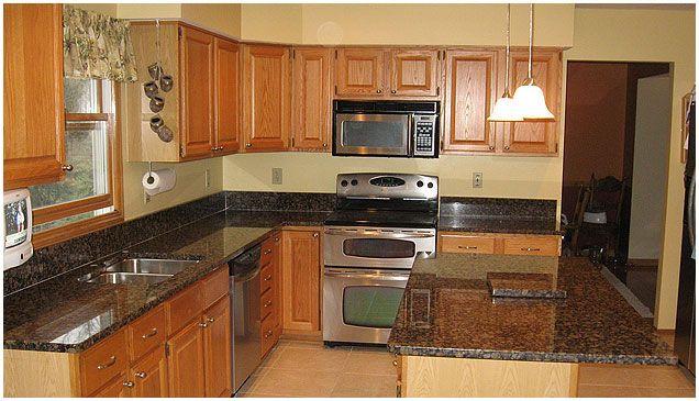 Baltic Brown Kitchen Brown Countertop Brown Granite Countertops Cheap Countertops