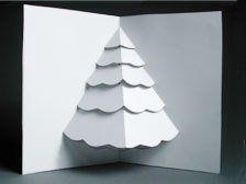 How To Make A Christmas Tree Pop Up Card Pinterest Mac S Card