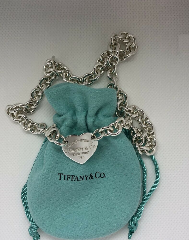 6417cf729 Please Return To Tiffany & Co Center Heart Tag Sterling Silver Choker  Necklace #TiffanyCo #Choker