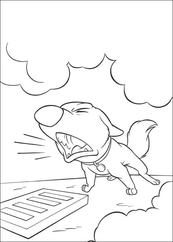 Bolt Coloring Pages 7