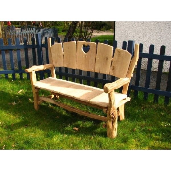 woodland love seat garden bench - Wooden Garden Furniture Love Seats