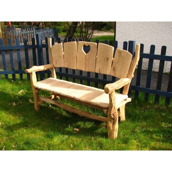 Woodland Love Seat U0026 Garden Bench