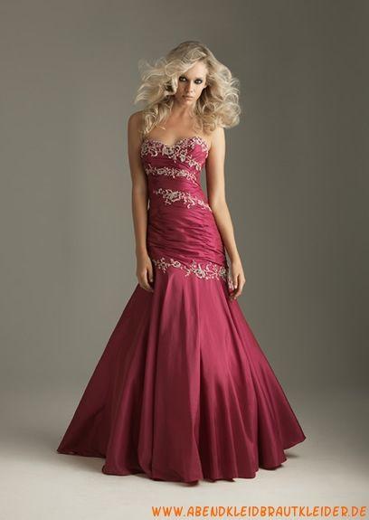 2013 Sexy Meerjungfrau Abendkleid aus Taft mit Pailletten | ☆PR0M ...