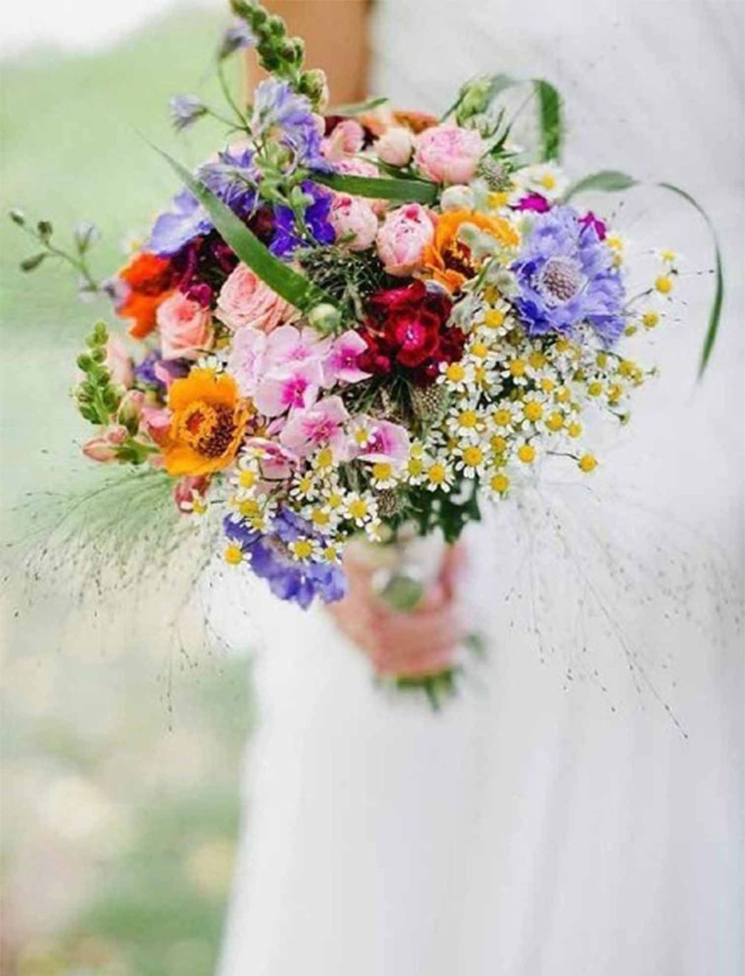 close to nature wedding bouquets for fall wedding | wedding bouquet ...