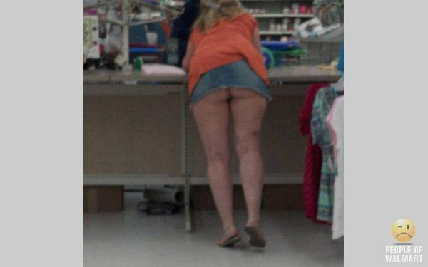 Consider, that Voyeur upskirt at walmart the