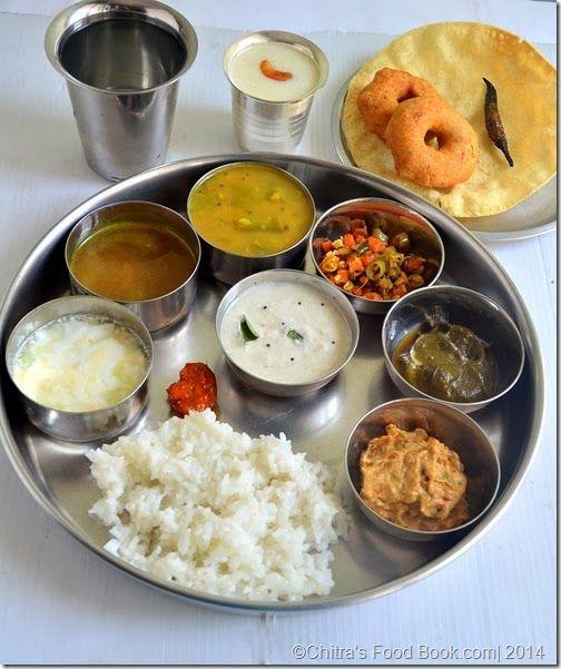 Tamilnadu Lunch Menu 1- South Indian Lunch Menu Ideas