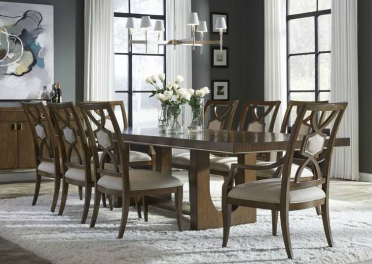 Its The Most Wonderful Time Of Yearto Gather And Join Around This Beautiful Thomasville Retrospect Tamar Pedestal Table With Friends Family Full