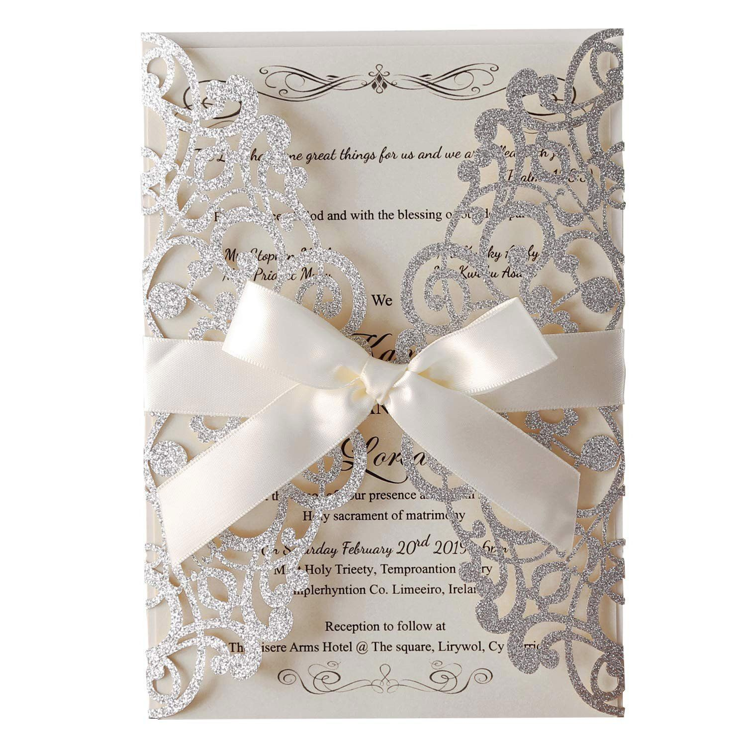 Wedding Invitations Kits Cheap Beautiful Cheap Wedding Invitations Kit Amazon Hosmsu Buy Wedding Invitations Wedding Invitation Kits Wedding Shower Invitations