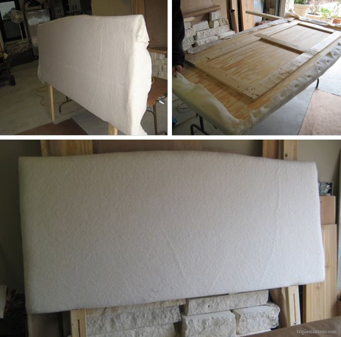 Diy Upholstered Headboard Tutorial Reveal Diy Headboard Upholstered Upholstered Headboard Padded Headboard Diy