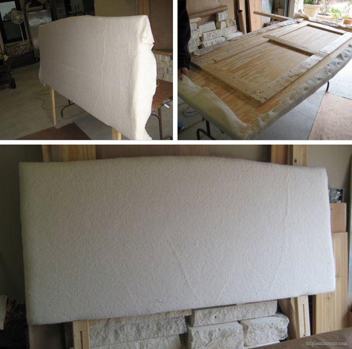 Diy Upholstered Headboard Tutorial Reveal Diy Headboard
