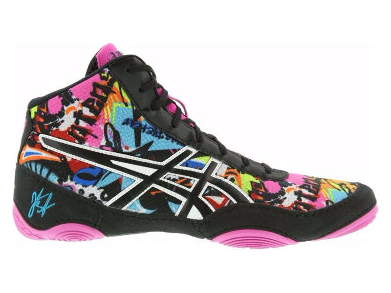 Asics Jb Elite V2 0 Wrestling Mens Graffiti J501q New Asics