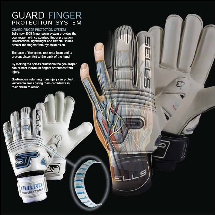 Guard finger protection system. Sells Goalkeeper Gloves 95b41020ab