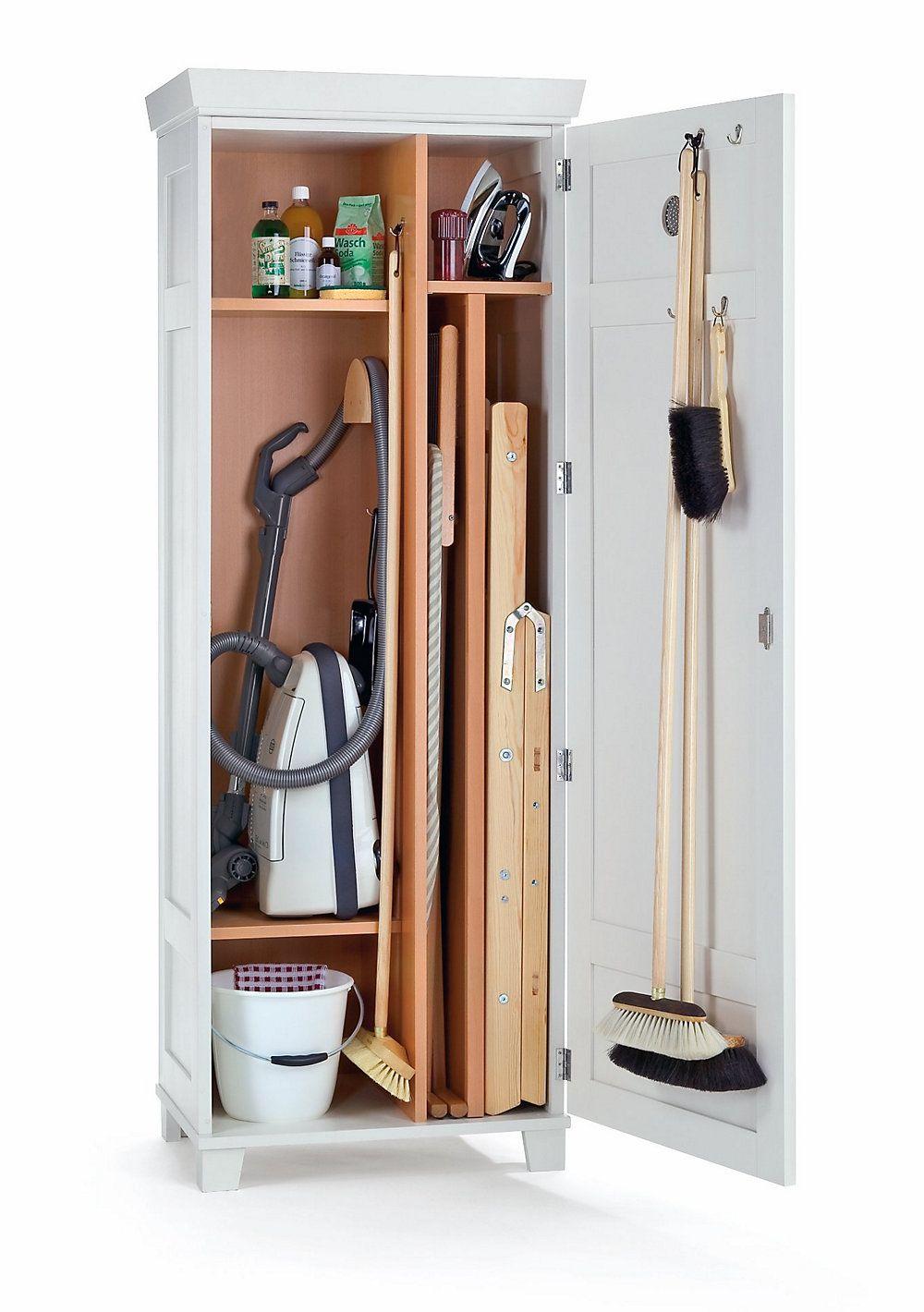 manufactum besenschrank buchenholz | kitchen decorspace saving