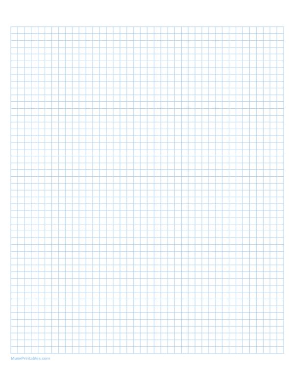 Printable 1 2 Cm Light Blue Graph Paper For Letter Paper Free Download At Https Museprintabl Printable Graph Paper Graph Paper Paper Template Free Printable