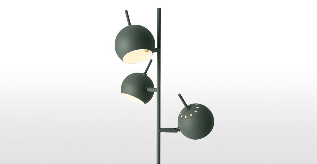 Austin Floor Lamp Green Made Com Floor Lamp Lamp Flooring