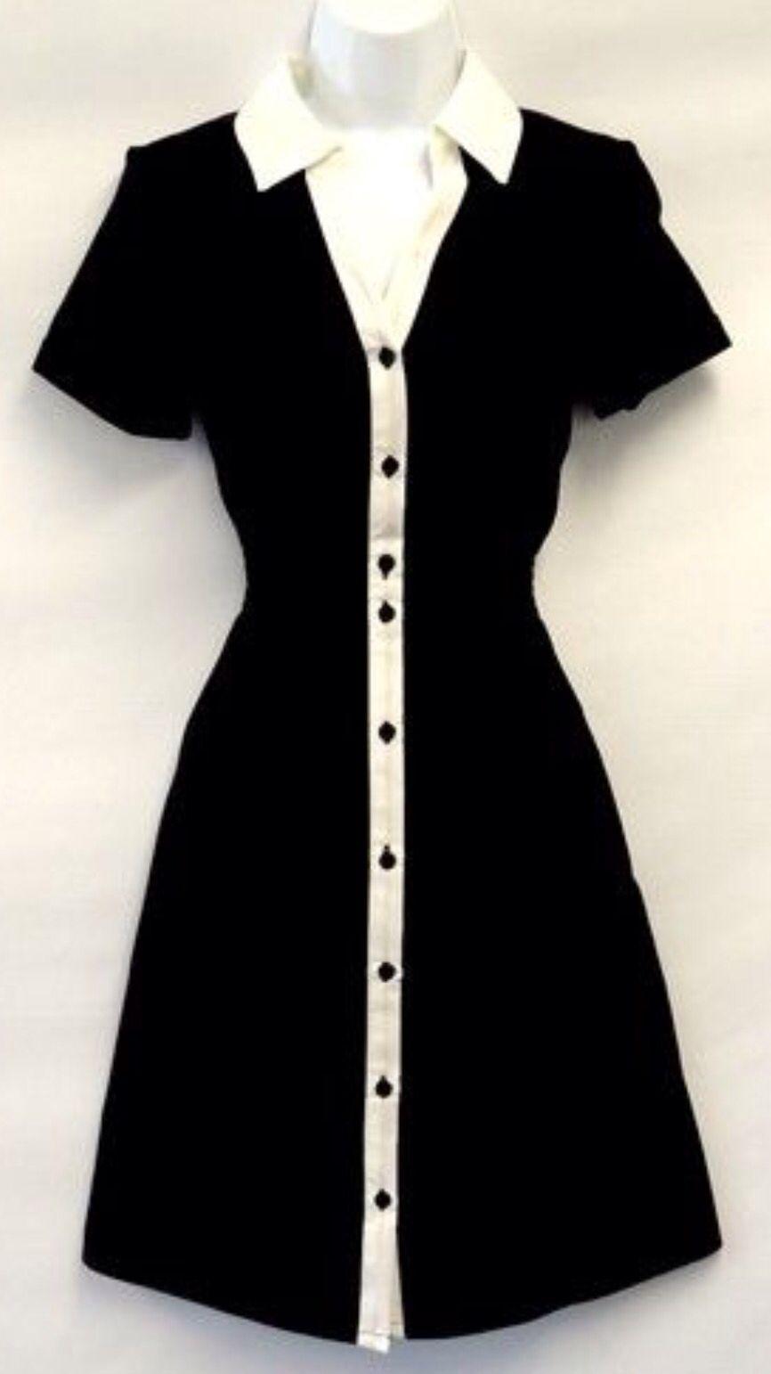Vintage Diner Style Uniform Waitress Dress Clothes Tea Dresses Uk