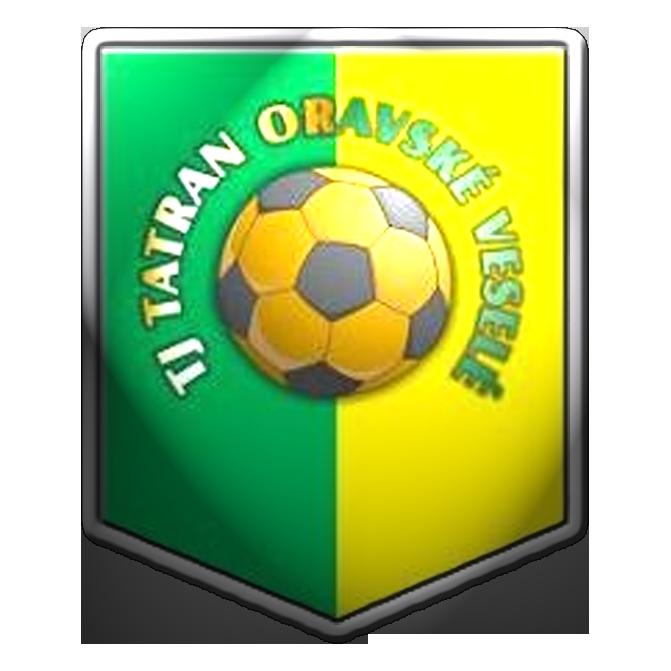 football / soccer logo , Slovakia TJ Tatran Oravské Veselé